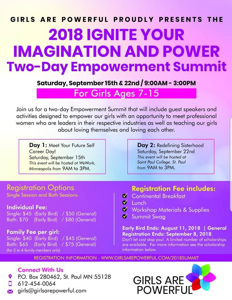 2018 Ignite Your Imagination and Power