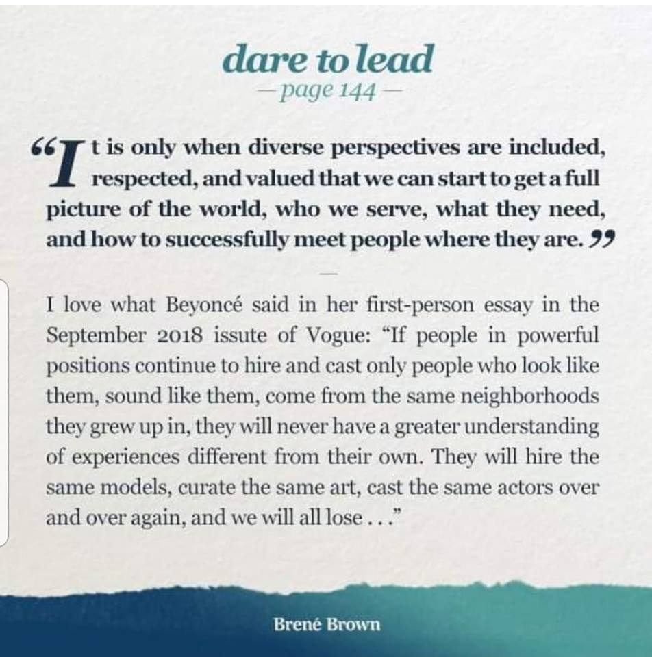 Message from Brené Brown