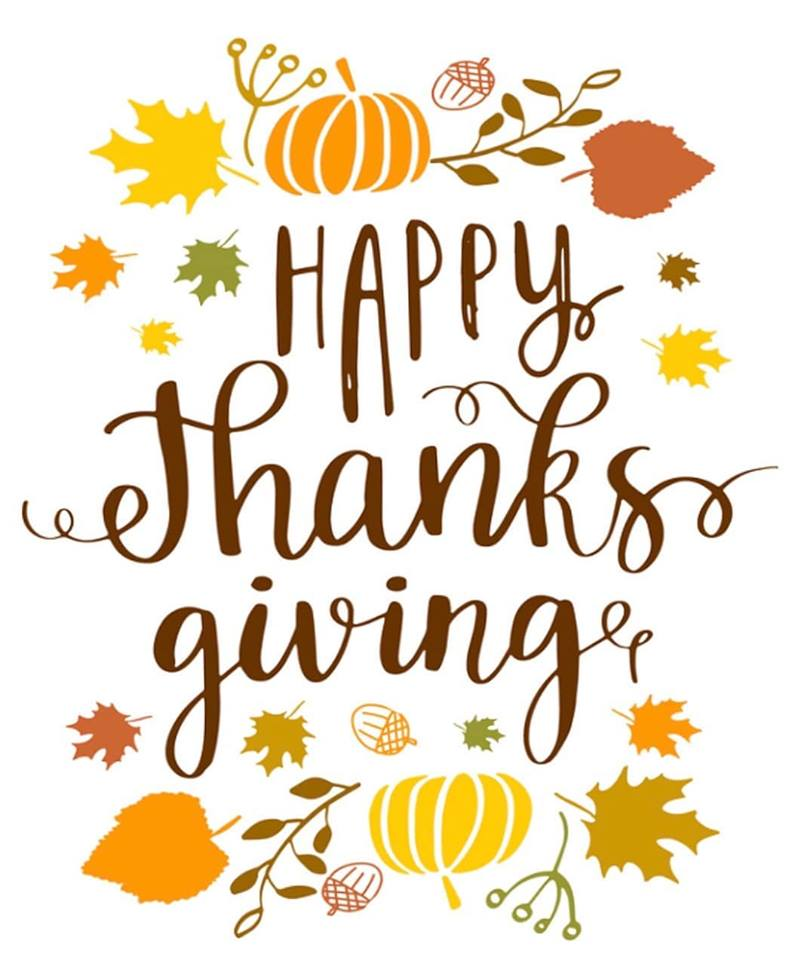 Happy Thanksgiving From Girls Are Powerful Organization!