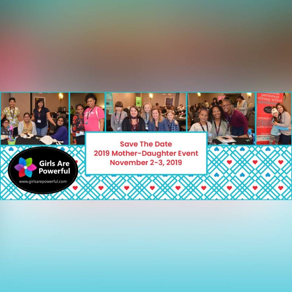 Save the Date for Mother-Daughter Event 2019