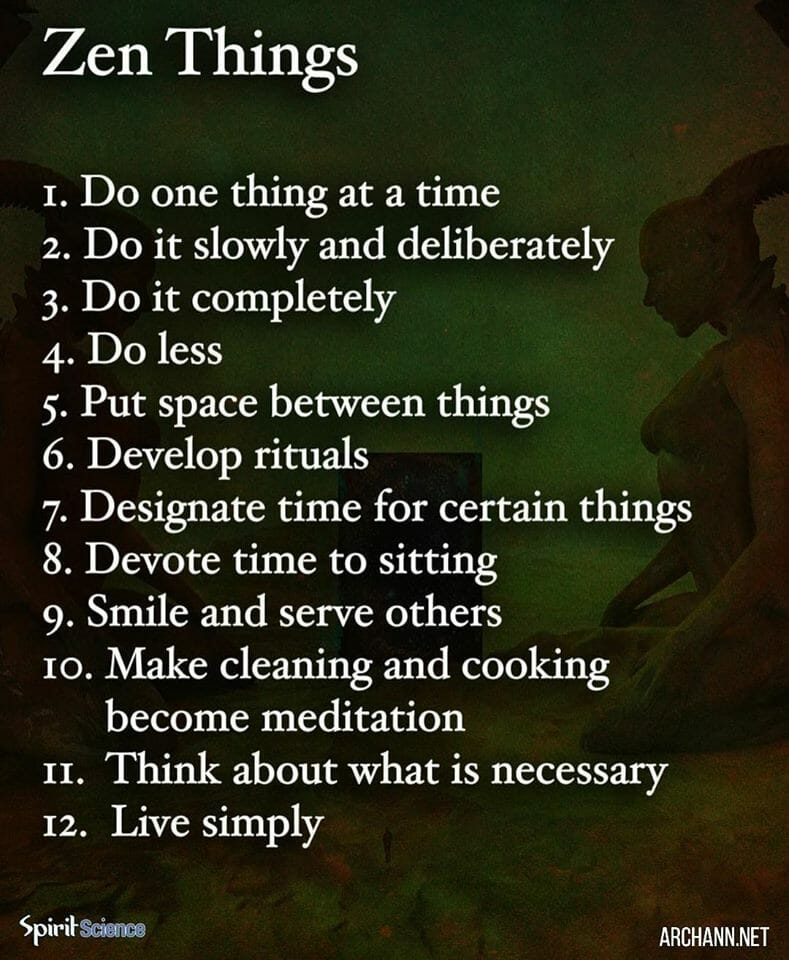 Zen Things: Because We All Need Some Inspiration
