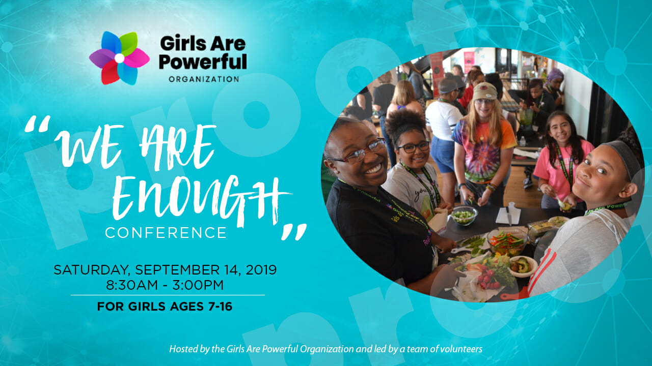 2019 We Are Enough Conference