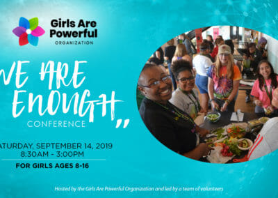 2019 We Are Enough Conference E4