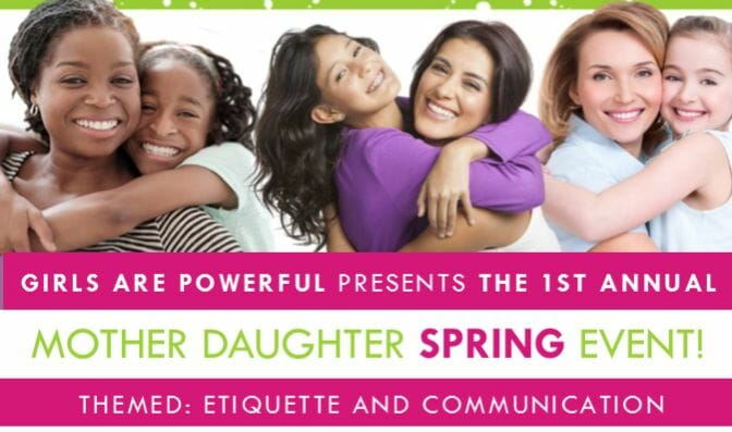 2017 Mother-Daughter Spring Event